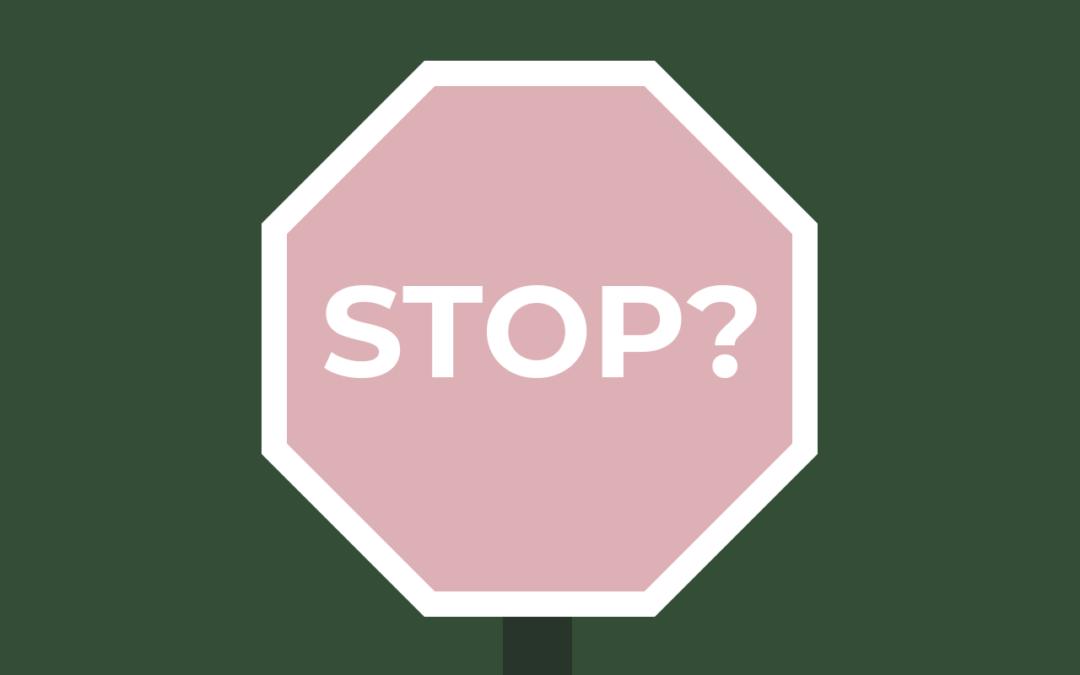 Module 6: Stoppen met uitstellen