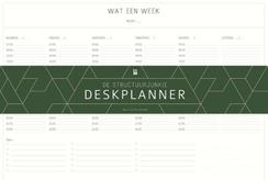 Structuurjunkie Deskplanner