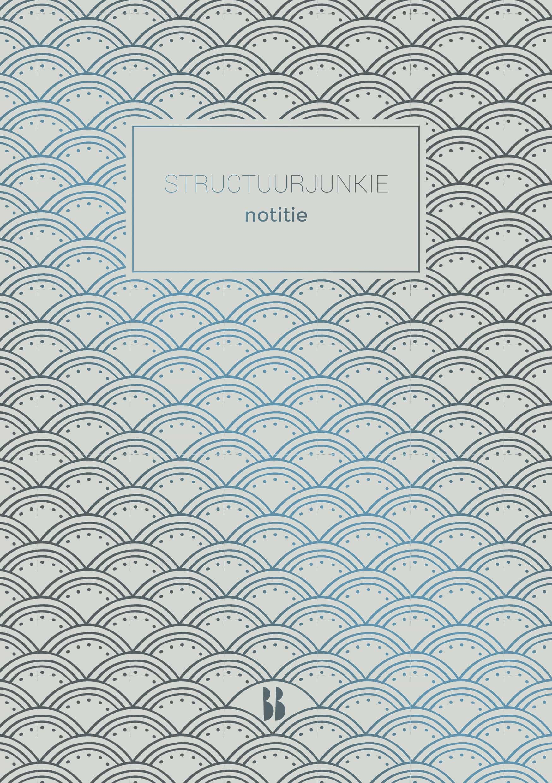 Structuurjunkie Notitieboek